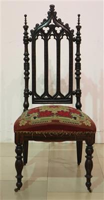Neogotischer Sessel