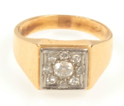 Brillant-Diamant-Ring - Klenoty