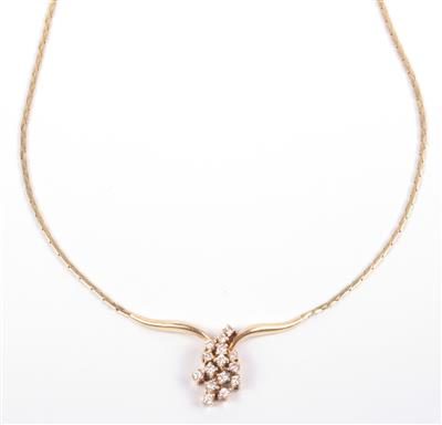 Brillant Collier - Schmuck Onlineauktion