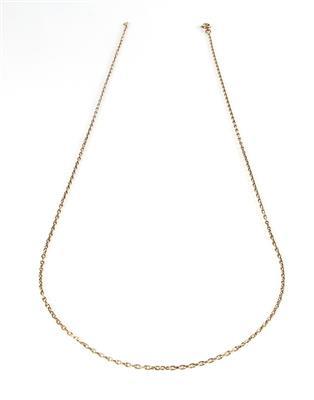 Ankermuster Halskette