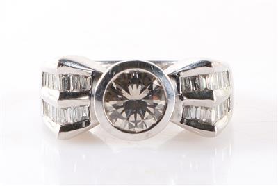 Brillant Diamant Damenring