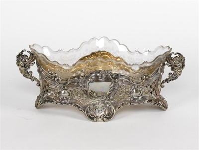 Prunkvolle Historismus Jardiniere - Art and Antiques, Jewellery