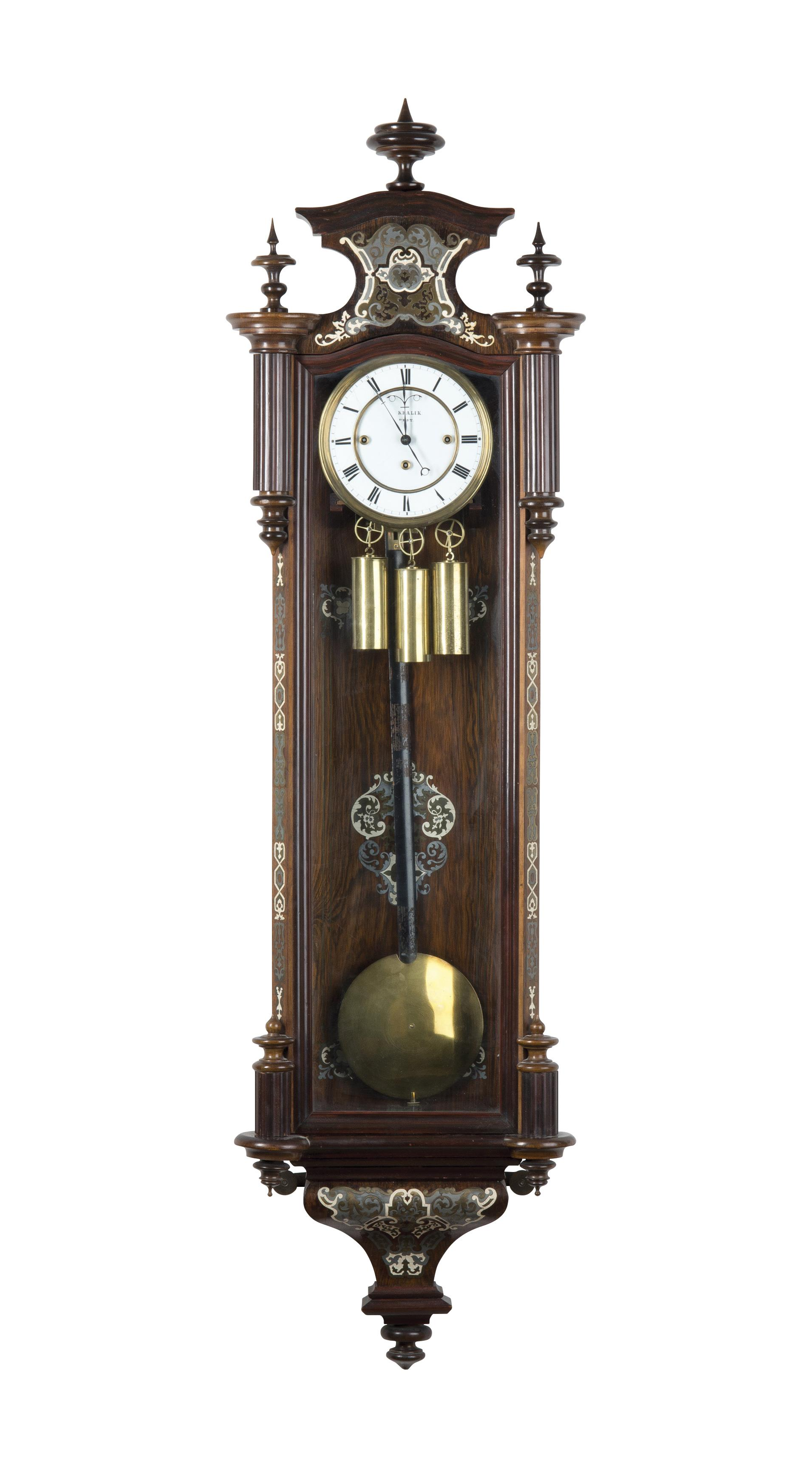 Luxury Wall Clock Art And Antiques 2017 11 25 Realized Price Czk 50 000 Dorotheum