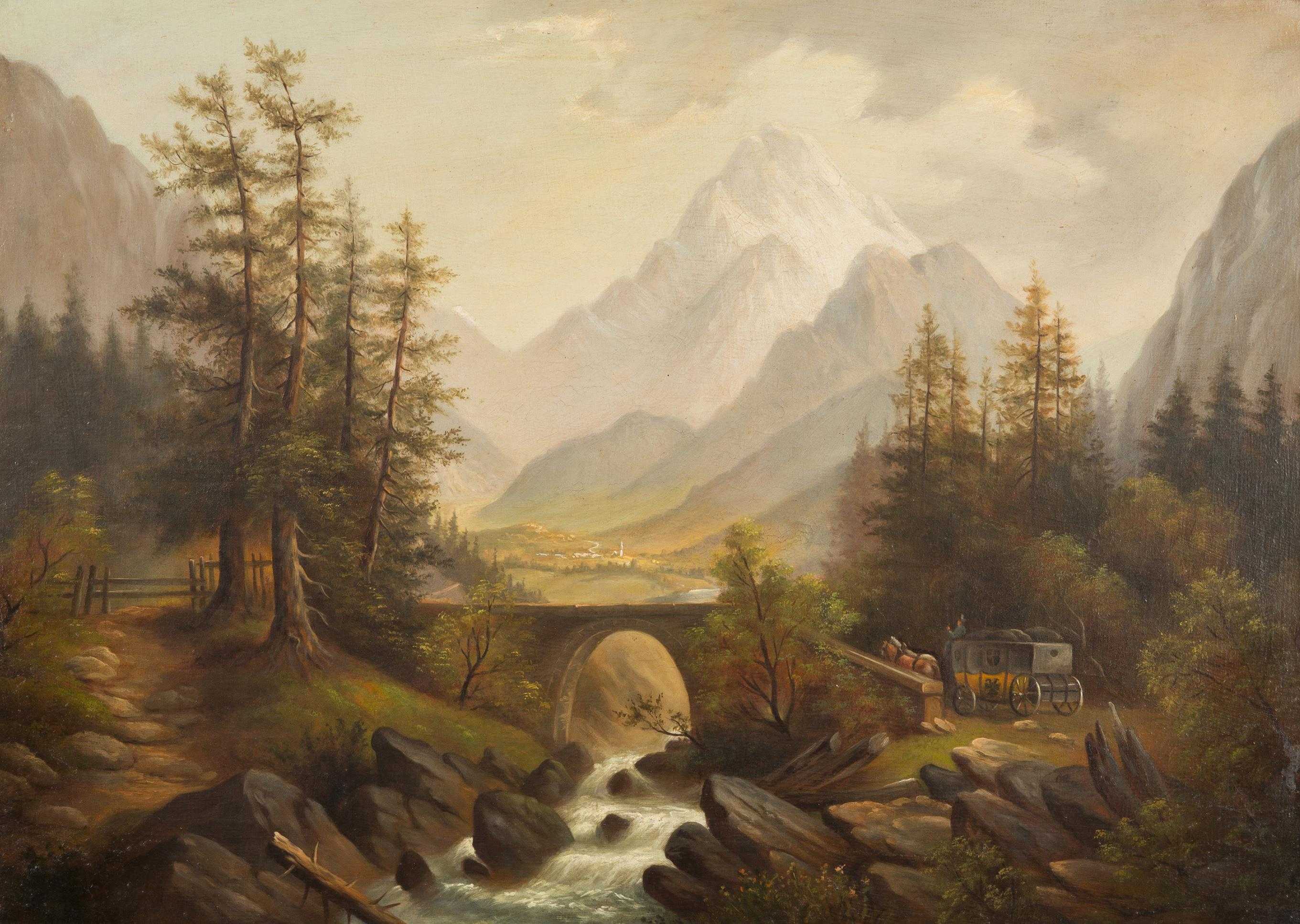 Probably An Austrian Painter From The 2nd Half Of The 19th Century Art