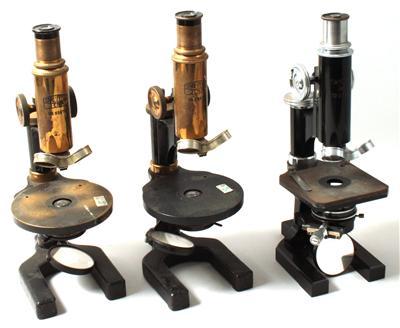 Neun mikroskope von carl zeiss jena sommerauktion