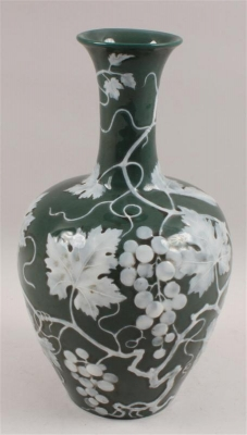 Vase, - Summer-auction