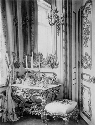 Neorokoko Wandkonsoltisch Antiquitäten Möbel 22042015