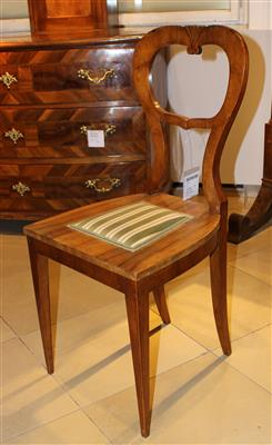 3 Biedermeier Sessel, - Summer-auction