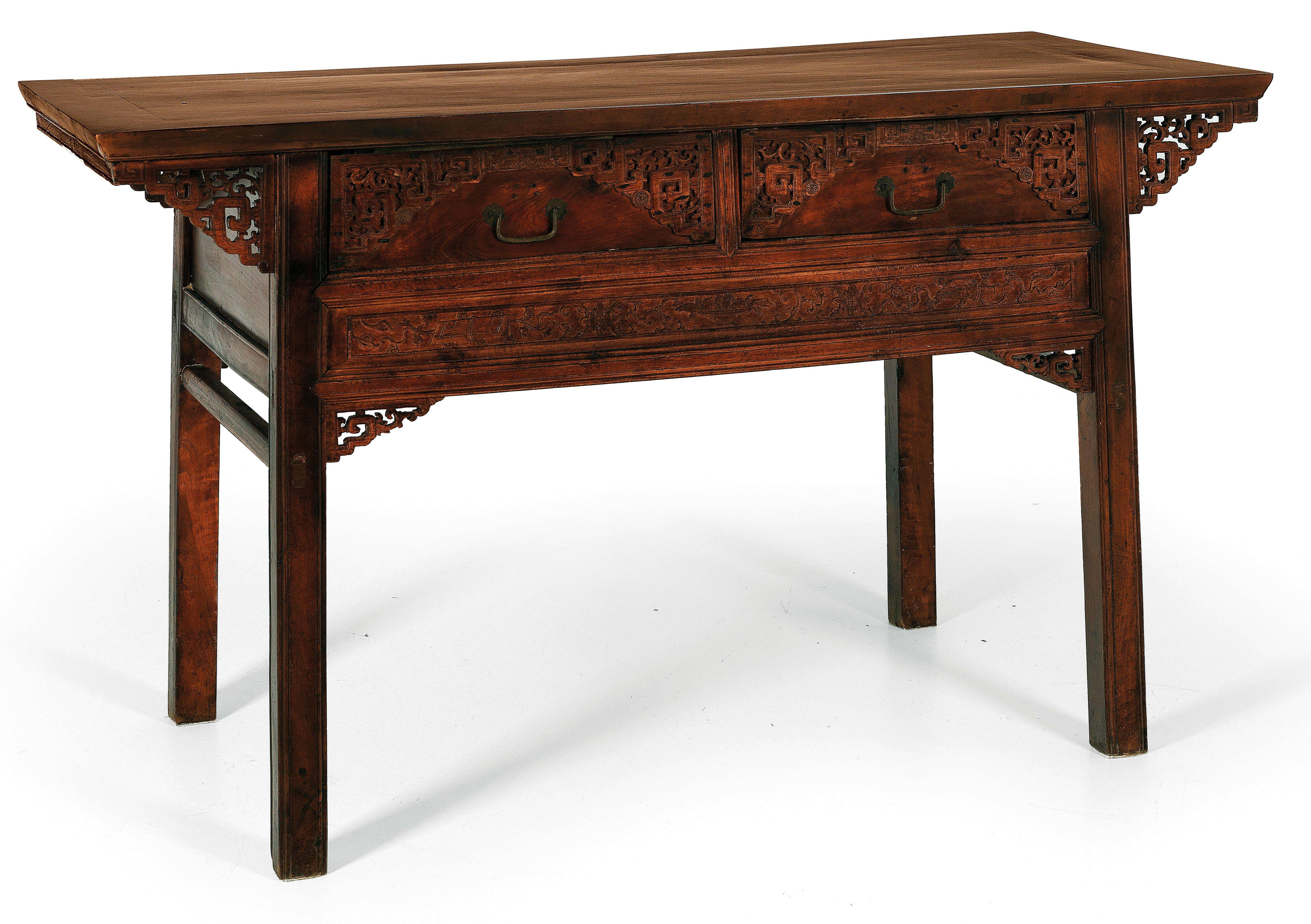 Chinese Offertory Table Works Of Art Furniture Sculptures