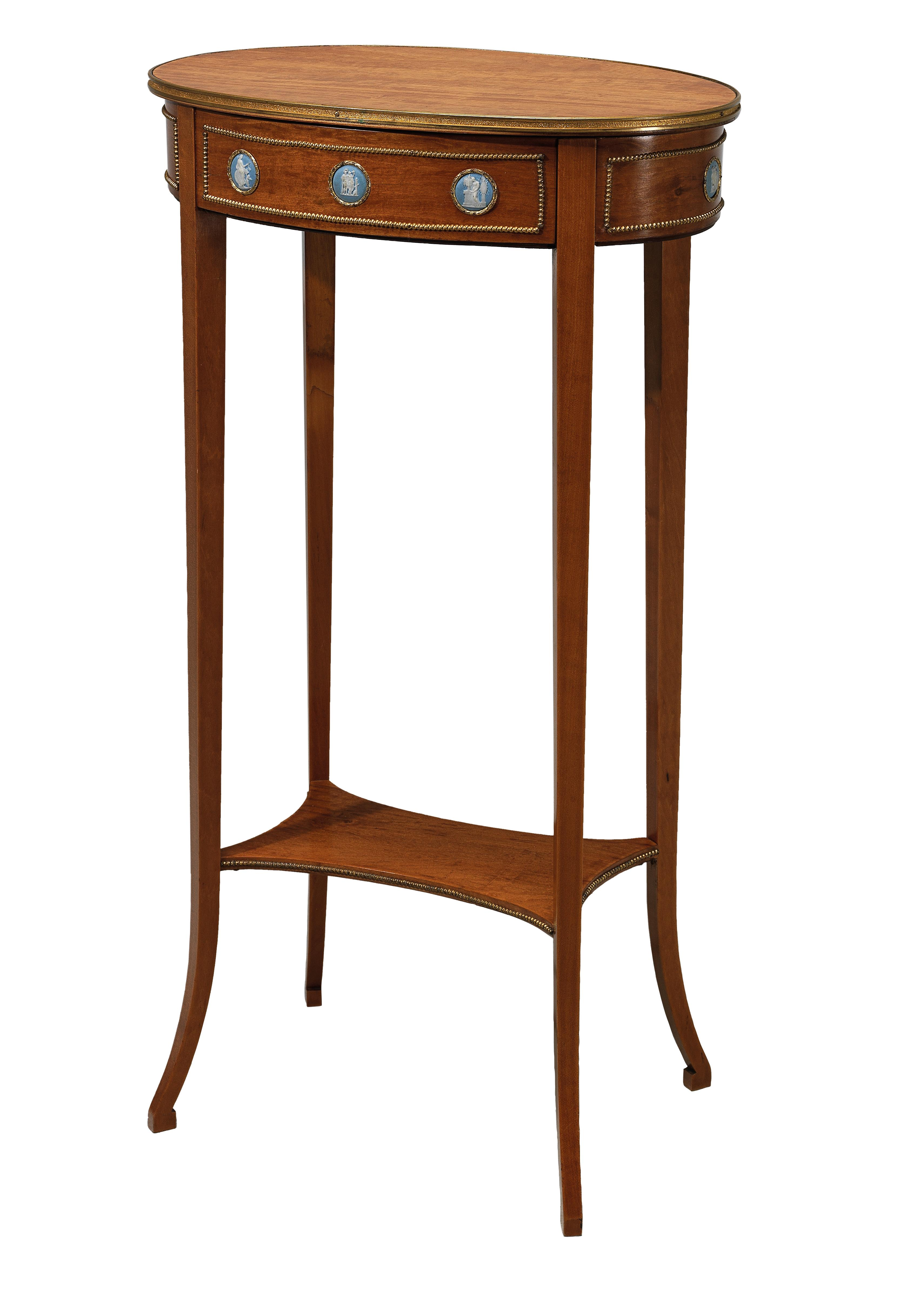 A Dainty Salon Table - Furniture, Porcelain, Sculpture and Works of