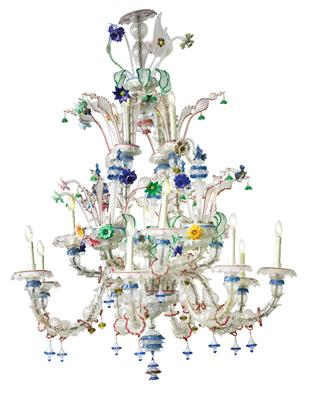 A Magnificent Ca' Rezzonico Chandelier, - Furniture, Porcelain, Sculpture and Works of Art