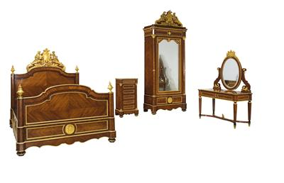 A Magnificent Napoleon III Bedroom Ensemble, - Starožitnosti