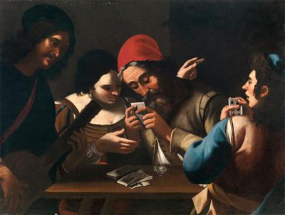 Follower of Caravaggio, 17th Century - Old Master Paintings