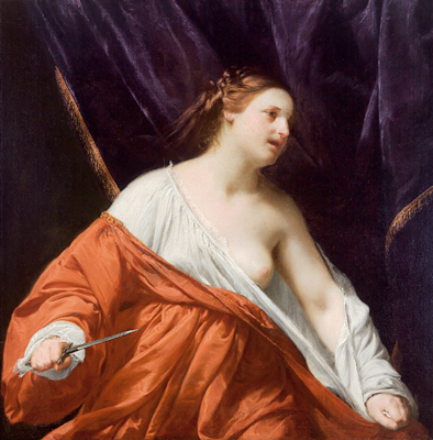 Guido Cagnacci - Old Master Paintings 2007/04/24 - Realized price: EUR  1,380,000 - Dorotheum