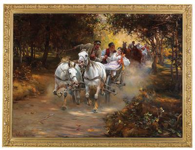 Alfred Von Wierusz Kowalski 19th Century Paintings 201604