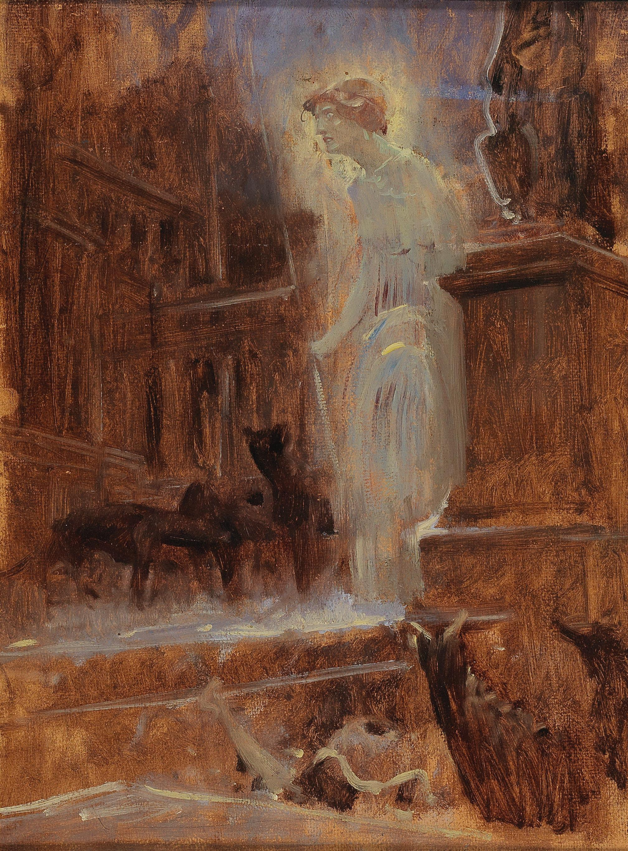 Adolf Hiremy Hirschl - 19th Century Paintings and Watercolours 2017/06/29 - Realized price: EUR 2,250 - Dorotheum
