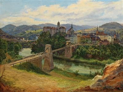 Anton Schiffer - 19th Century Paintings
