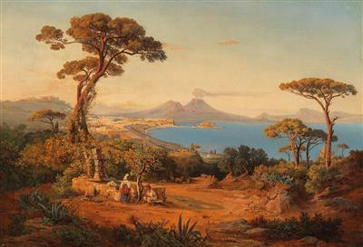 Ölgemälde und Aquarelle des 19. Jahrhunderts