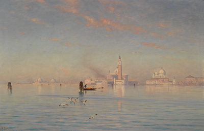 Ascan Lutteroth - 19th Century Paintings