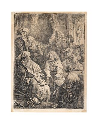 Rembrandt Harmensz van Rijn - Master Drawings, Prints before 1900, Watercolours, Miniatures