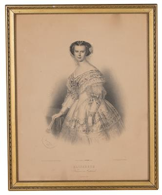 Empress Elisabeth of Austria, - Imperial Court Memorabilia and Historical Objects