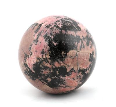 A Rhodonite Sphere - Antique Scientific Instruments, Globes and Cameras