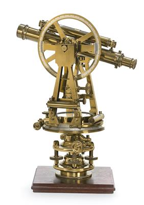 A Troughton & Simms brass Theodolite - Antique Scientific Instruments, Globes and Cameras