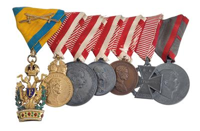 Medals of distinction from the estate of Rudolf Bäuer, - Antique Arms
