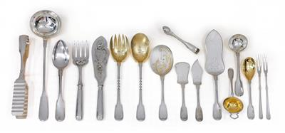 A cutlery service from Germany, for 12 individuals, - Argenti