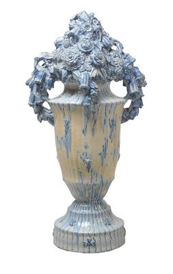 "Michael Powolny, a large ornamental vase (""decorative vase""), model number: 4088, designed c. 1916/17, executed by Wienerberger, Vienna - Jugendstil and 20th Century Arts and Crafts"