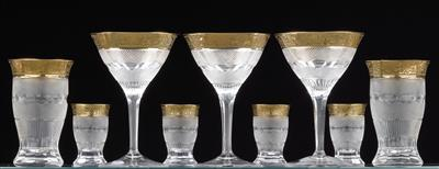 Moser glasses, - Glass and porcelain 2015/12/21 - Realized