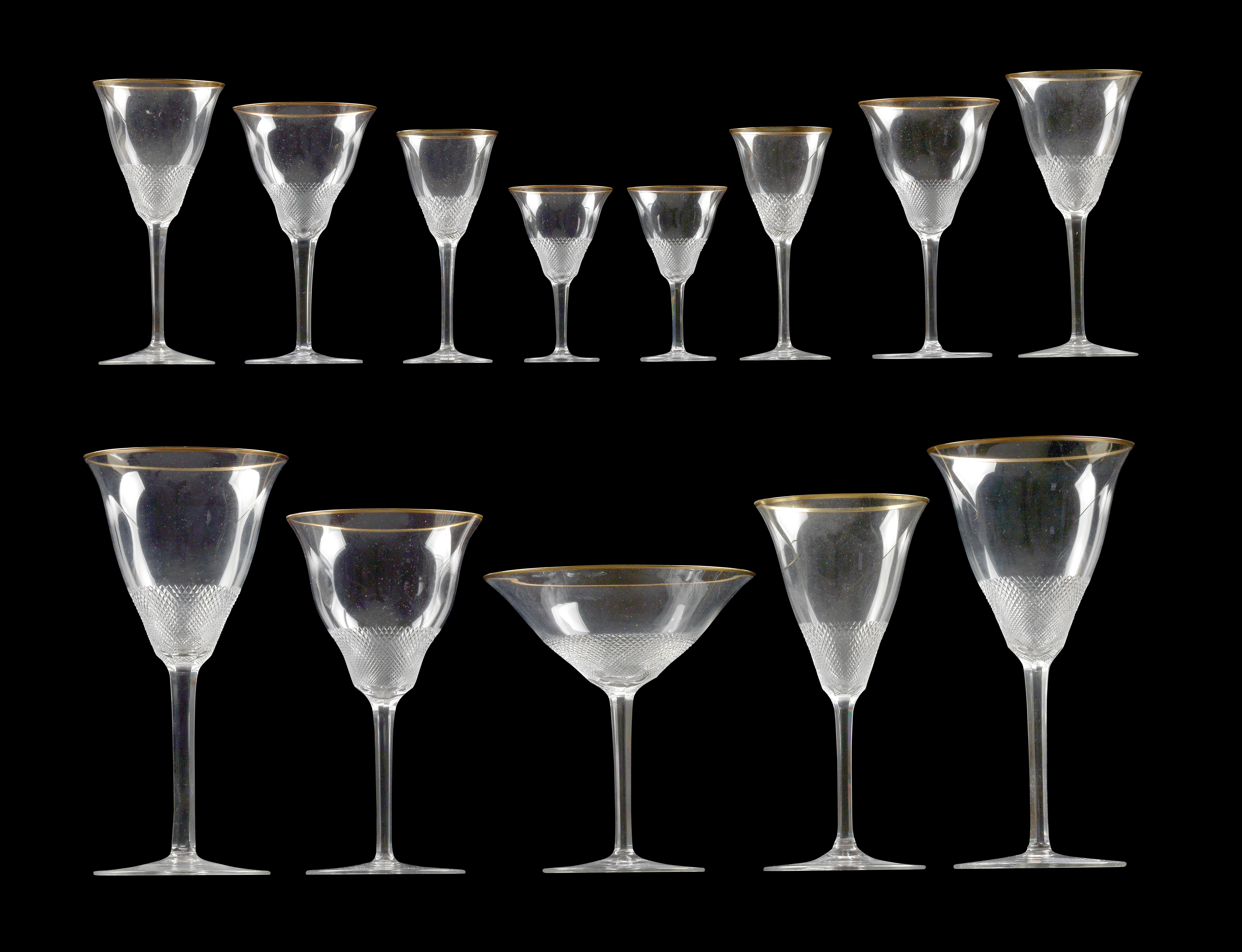 A Moser glass service, - Glass and porcelain 2017/06/22