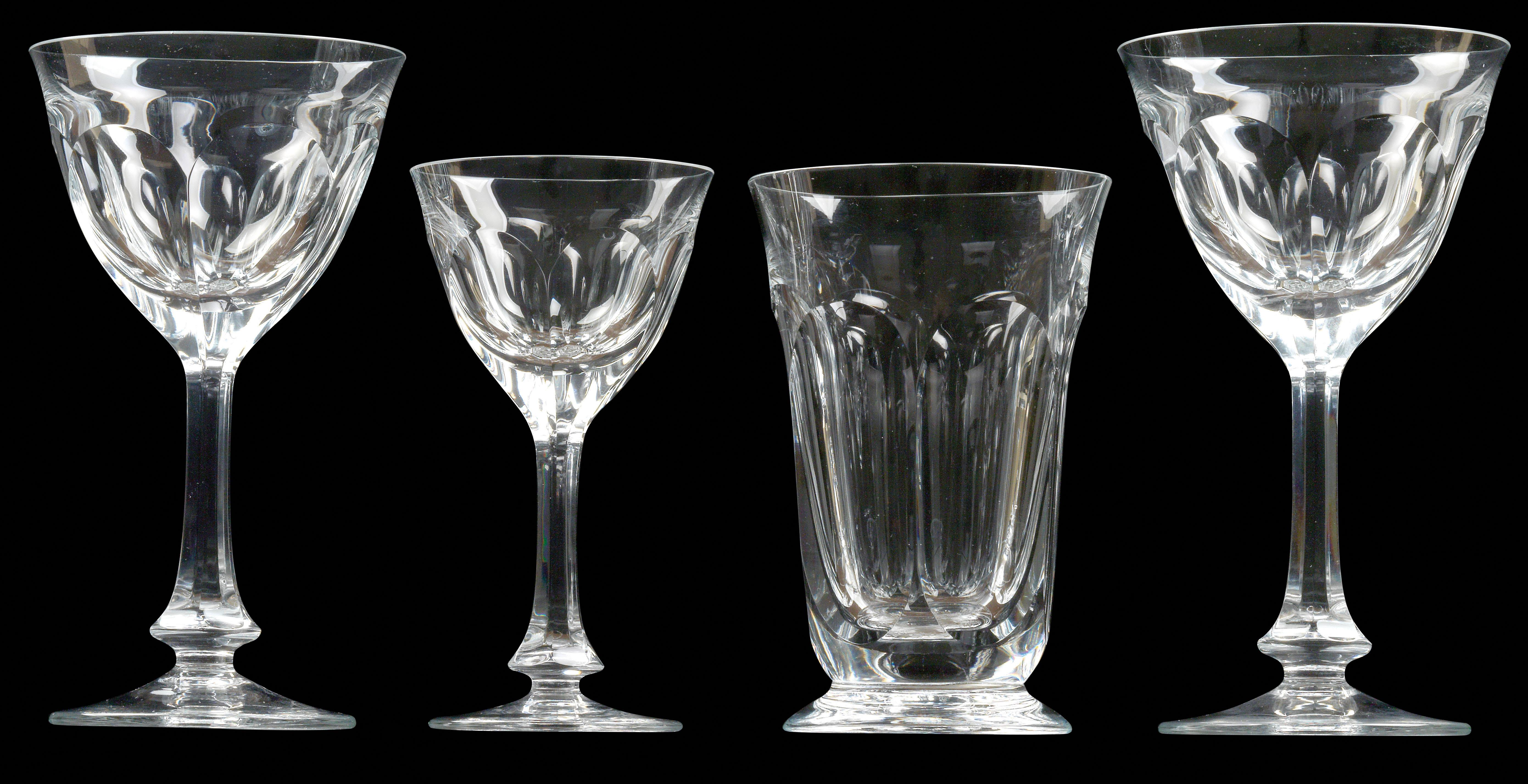 Moser glasses, - Glass and Porcelain 2018/06/12 - Realized