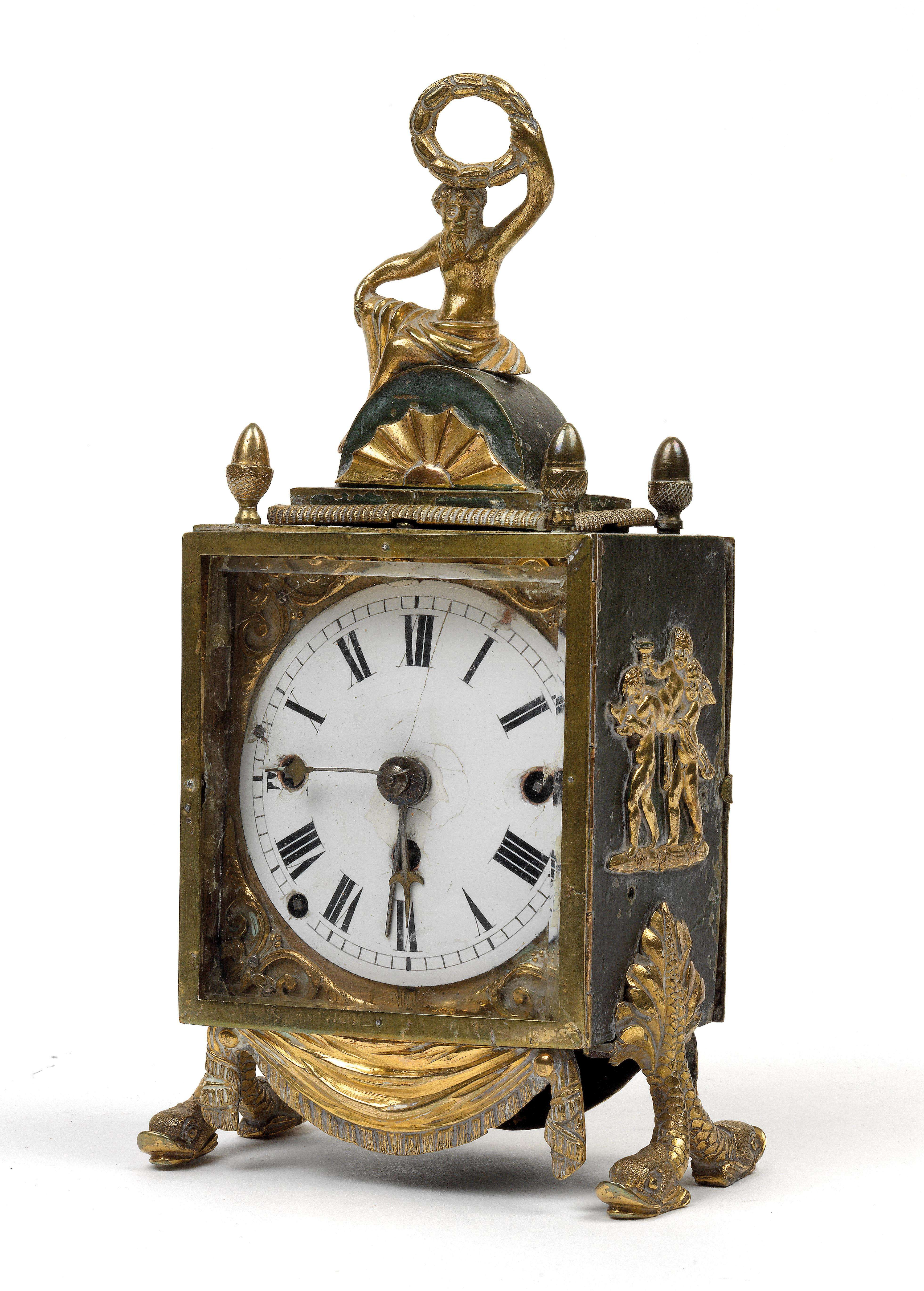 A Empire officer's travel clock - Antiques: Clocks, Vintage