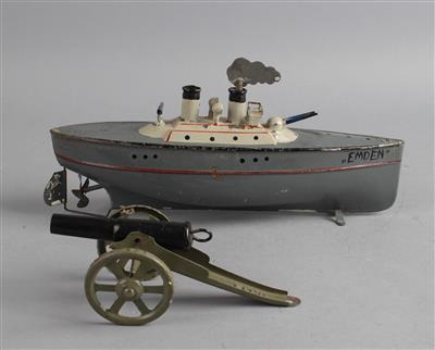 Kriegsschiff Emden um 1910