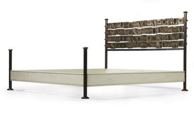 A king-size bed, Model No. 8604, - Design