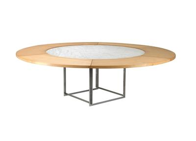 "A ""PK-54"" dining table, designed by Poul Kjaerholm, - Design"