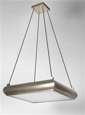 Functionalist hanging lamp, - Design