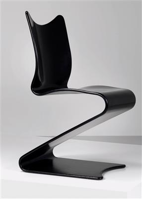 S-Chair, model no. 275, designed by Verner Panton, - Design