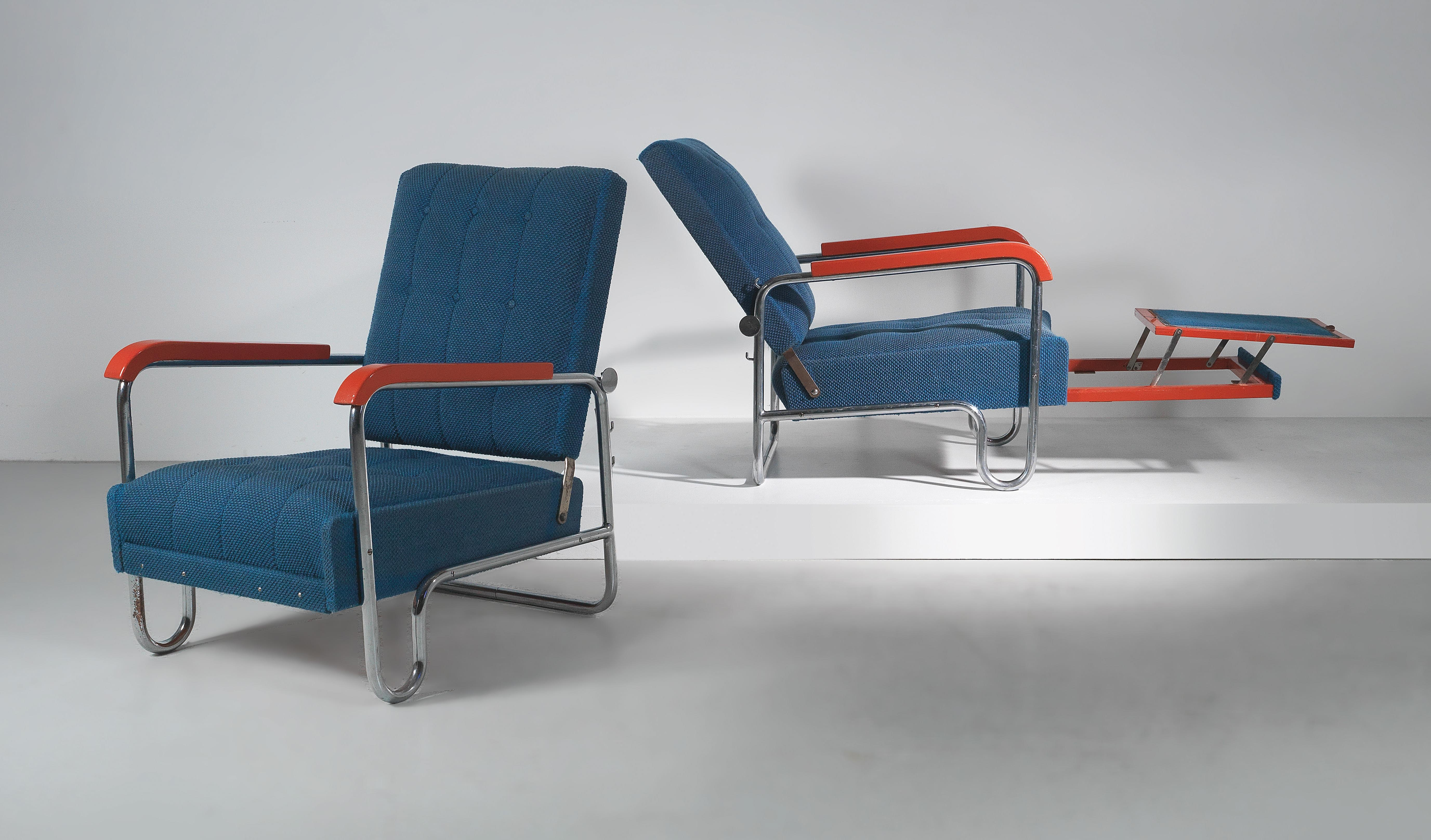 Walter Knoll Design Fauteuil.Two Armchairs Model No K418 From Series K Designed By Walter