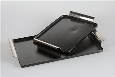 Two trays, designed by Marianne Brandt in 1929–32, - Design
