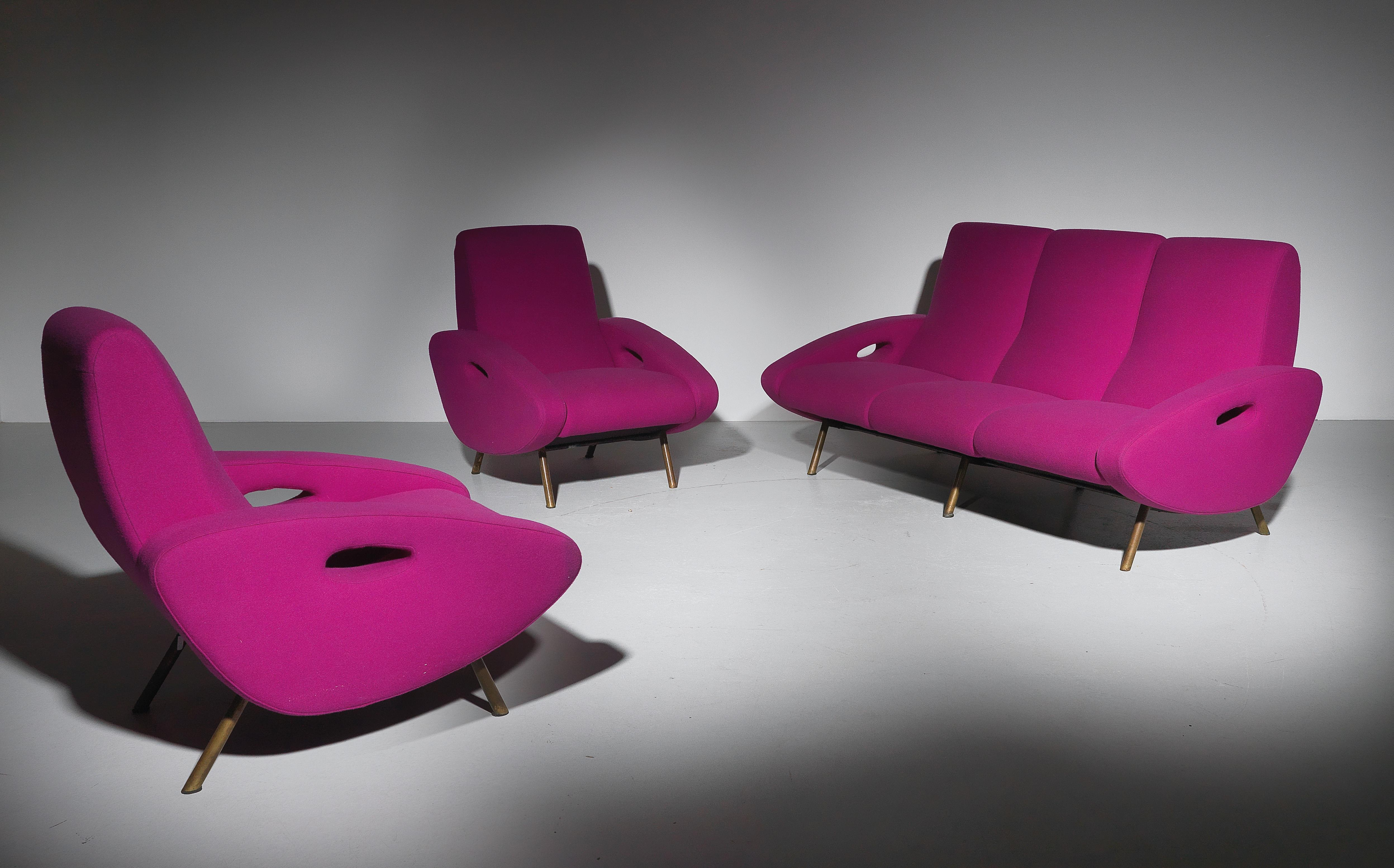 Excellent A Rare Lounge Suite A Three Seater Sofa And Two Chairs Gmtry Best Dining Table And Chair Ideas Images Gmtryco