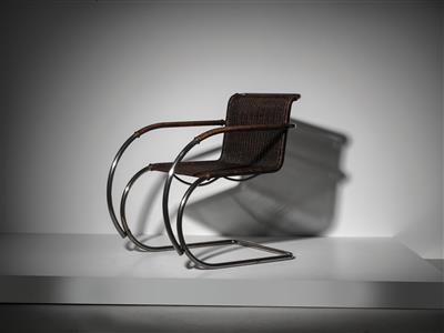 A rare Weissenhof armchair MR 20 / MR 534 g, designed by Ludwig Mies van der Rohe - Design