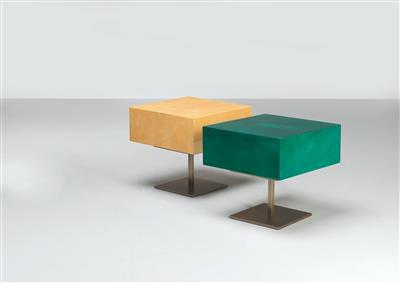 Two Side Tables, Aldo Tura, - Design