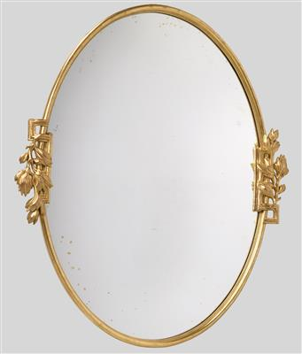A large wall mirror, the design attributed to Josef Hoffmann - Design First