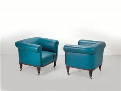 A pair of armchairs, Adolf Loos, designed for the apartment of Michael Leiss - Design First