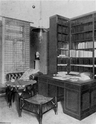 A Desk Adolf Loos For The Apartment Of Michael Leiss Design