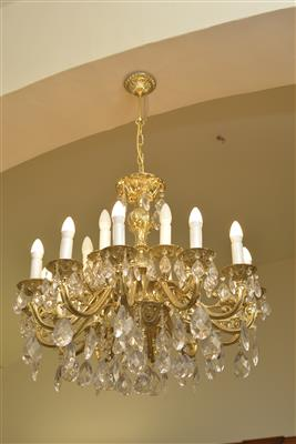 Metallluster in Kronenform, - MY HOME IS <br>MY CASTLE - <br>Classic English Interiors <br>Sale!!!