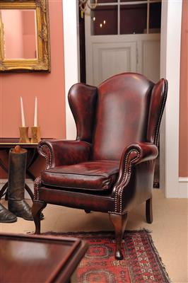 Ohrenbackenfauteuil, - MY HOME IS <br>MY CASTLE - <br>Classic English Interiors <br>Sale!!!