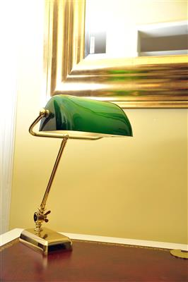 Schreibtischlampe, - MY HOME IS <br>MY CASTLE - <br>Classic English Interiors <br>Sale!!!